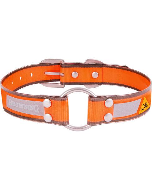 "Browning Orange Medium Dog Collar - Medium 14 - 20"", Orange, hi-res"
