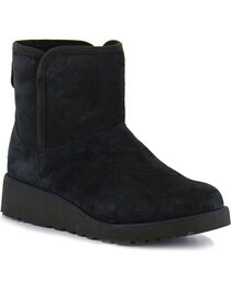 UGG Women's Black Kristin Boots - Round Toe, , hi-res