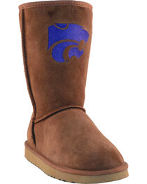 Gameday Boots Women's Kansas State University Lambskin Boots, , hi-res