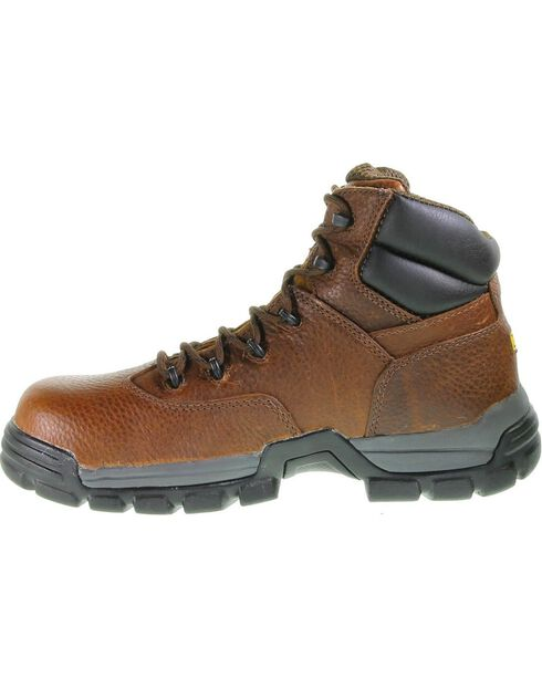 Wolverine Men's Guardian CarbonMAX® Safety Toe Work Boots, Brown, hi-res