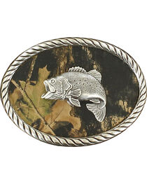 Fish Mossy Oak Oval Buckle, , hi-res