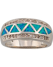 Montana Silversmiths Trickle Creek Band Ring, , hi-res