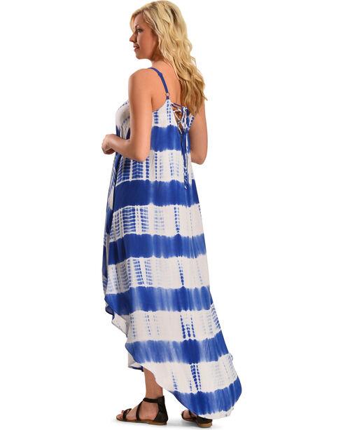 Flying Tomato Women's Tie-Dye Maxi Dress, Blue, hi-res