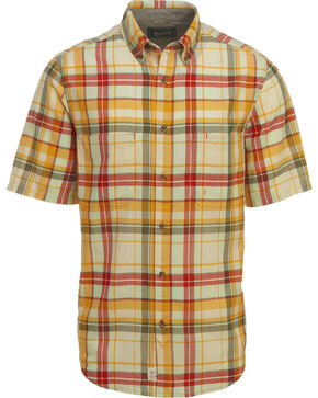 Woolrich Men's Oak View Eco Rich Plaid Shirt, Cream, hi-res