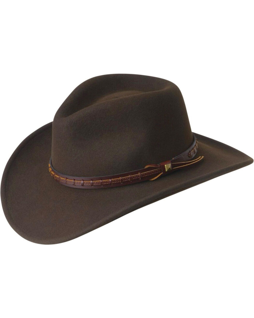 Wind River by Bailey Firehole Brown Western Hat, Brown, hi-res