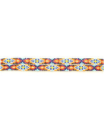 "M&F 3/8"" Beaded Elastic Hat Band, , hi-res"