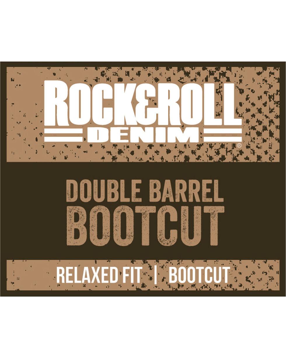 Rock & Roll Cowboy Men's Double Barrel Jeans - Boot Cut , Indigo, hi-res