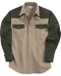 Carhartt Men's Long Sleeve Twill Work Shirt, , hi-res