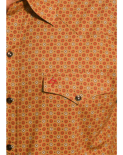 Garth Brooks Sevens by Cinch Print Pattern Western Shirt, Beige, hi-res