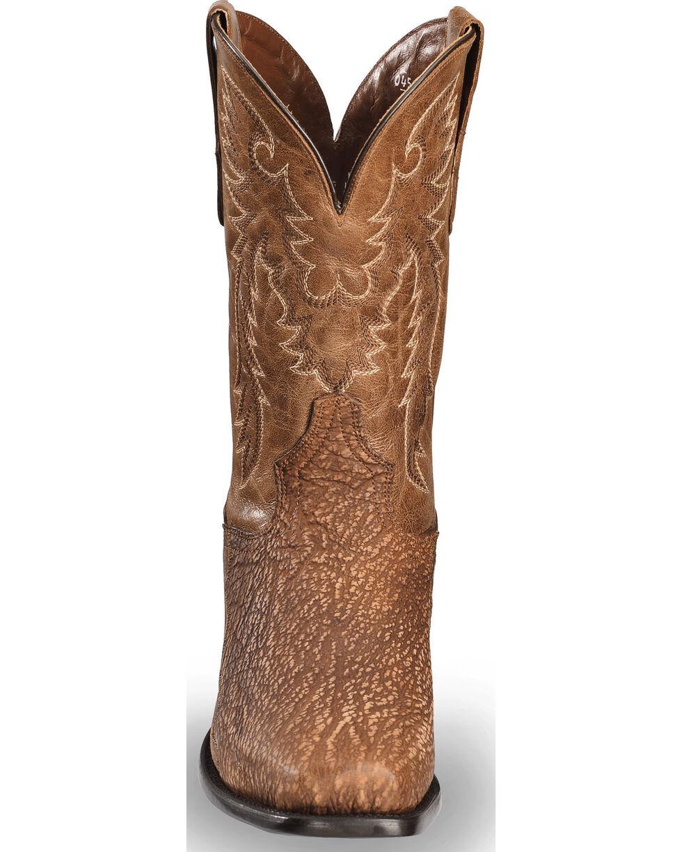 Dan Post Men's Cognac Shark Cowboy Boots - Square Toe, , hi-res