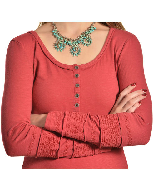Black Swan Women's Midori Top, Red, hi-res