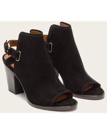 Frye Women's Black Suede Dani Shield Sling Heels, , hi-res