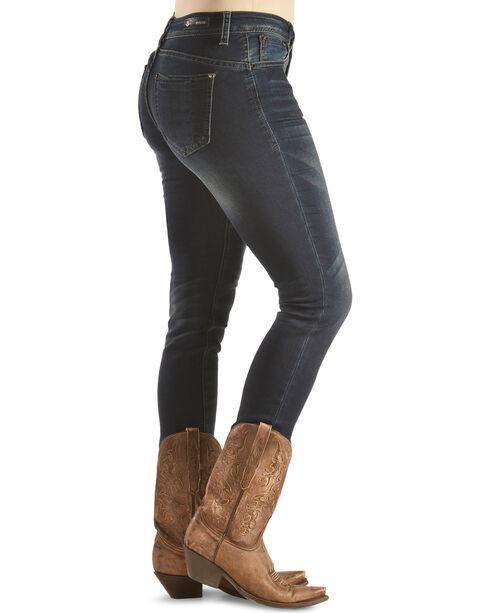 Grace in LA Women's Easy Fit Skinny Jeans , Indigo, hi-res