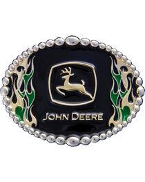 Montana Silversmiths John Deere Attitude on Fire Bet Buckle, , hi-res