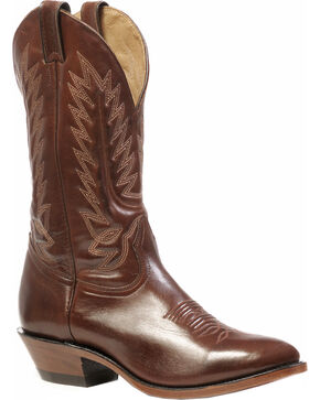 Boulet Ranch Hand Tan Boots - Medium Toe, Ranch Tan, hi-res