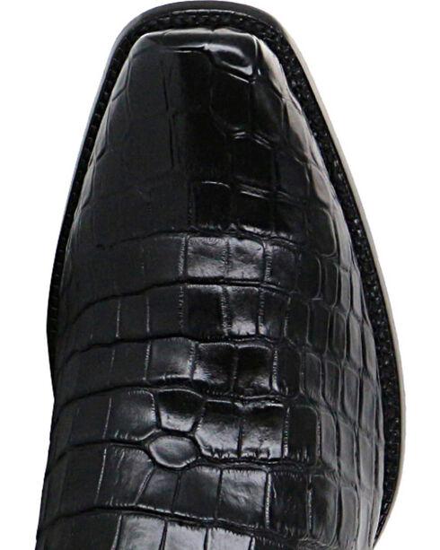 El Dorado Men's Alligator Belly Exotic Boots, Black, hi-res