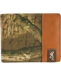 Browning Men's Mossy Oak Infinity Camo Bi-Fold Wallet, , hi-res