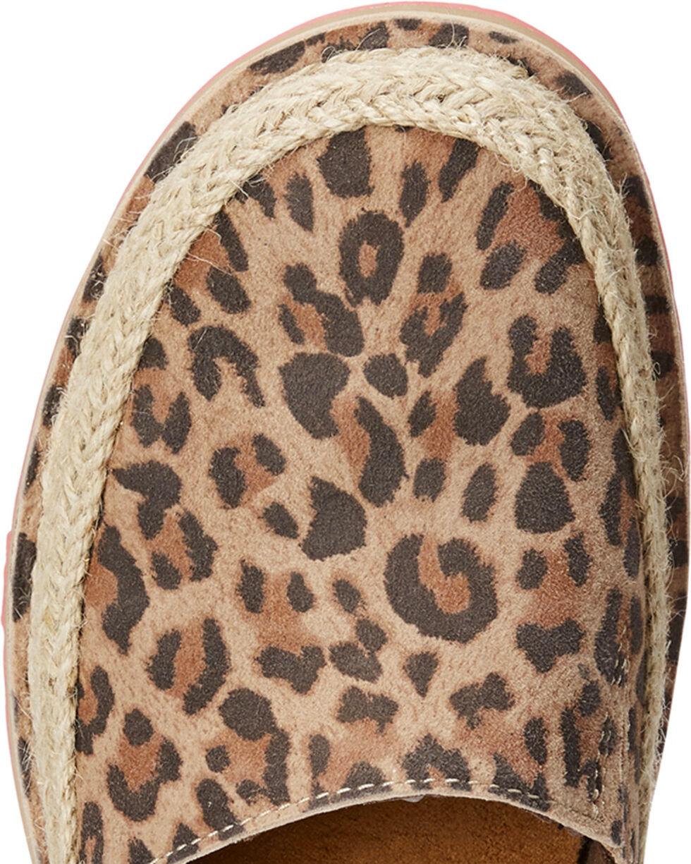 Ariat Women's Cheetah Cruiser Espadrille Shoes , Cheetah, hi-res