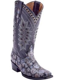 Ferrini Women's Apache Rose Western Boots - Square Toe , , hi-res