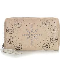 Shyanne Women's Snowflake Stud Wallet, , hi-res