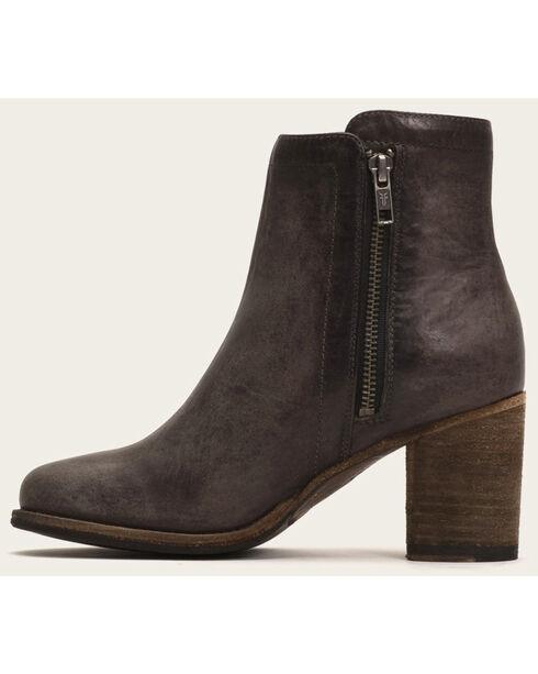 Frye Women's Addie Double Zip Boots - Round Toe , Grey, hi-res