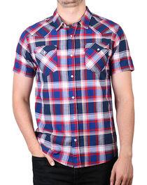 Levi's Men's Plaid Short Sleeve Shirt, , hi-res