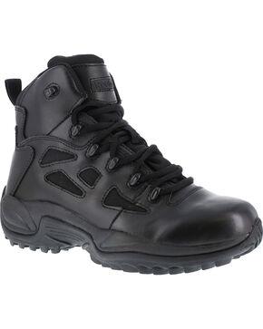 "Reebok Men's Stealth 6"" Lace-Up Work Boots, Black, hi-res"