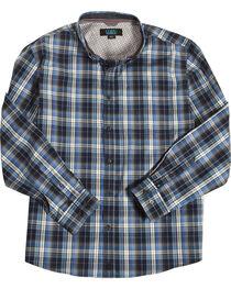 Cody James Men's Martingale Plaid Long Sleeve Button Down Shirt - Big & Tall, , hi-res