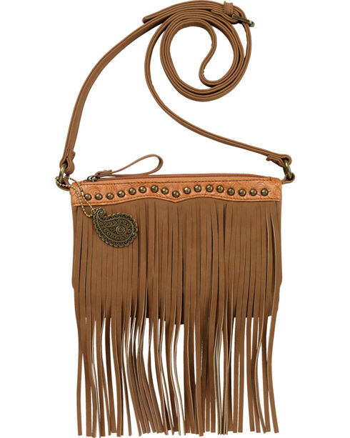 Bandana Women's Sun Valley Fringe Combination Crossbody, , hi-res