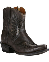 Ariat Women's Santos Western Booties, , hi-res
