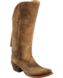 Lucchese Handmade 1883 Women's Vera Cowgirl Boots - Snip Toe, , hi-res