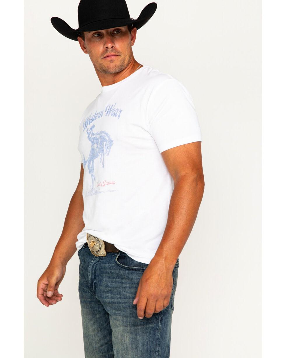 Cody James Men's Western Wear Screen Printed T-Shirt, White, hi-res