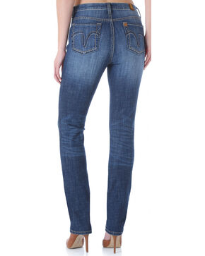 Aura from Wrangler Women's Instantly Slimming Straight Leg Jeans, Indigo, hi-res