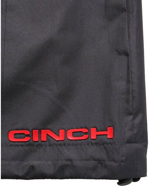 Cinch Women's Hydrographic Print Rain Jacket, Charcoal, hi-res