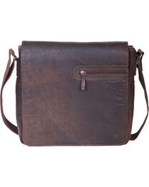 HiDesign by Scully Leather Messenger Briefcase, , hi-res