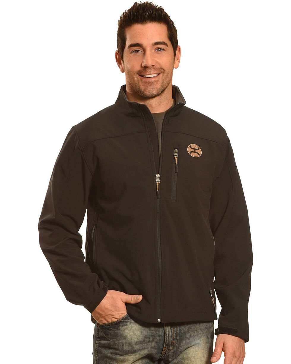 HOoey Men's Black Logo Jacket, , hi-res