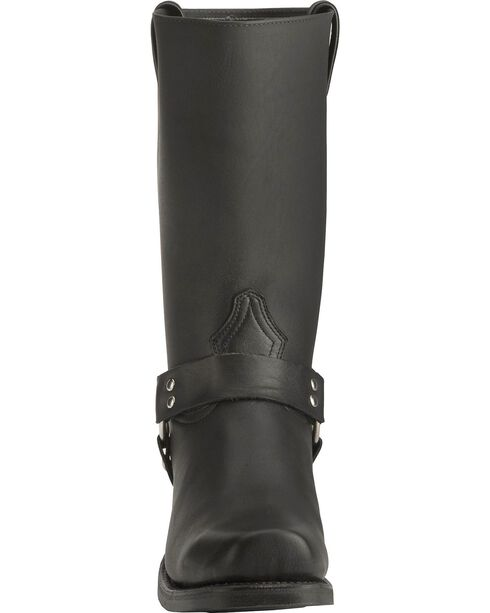 "Boulet Men's 12"" Unlined Motorcycle Harness Boots, Black, hi-res"
