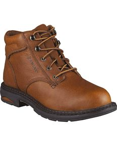 Ariat Womens Macey Work Boots, Peanut, hi-res