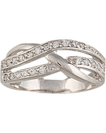 Montana Silversmiths Twin Channels Ring, , hi-res