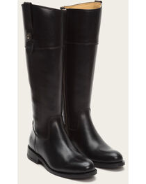 Frye Women's Black Jayden Button Tall Boots - Round Toe , , hi-res