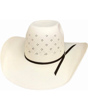 Bullhide Men's 100X Tyler Harr Hot Streak Straw Hat , Natural, hi-res