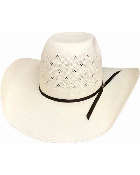 Bullhide Men's 100X Tyler Harr Hot Streak Straw Hat , , hi-res