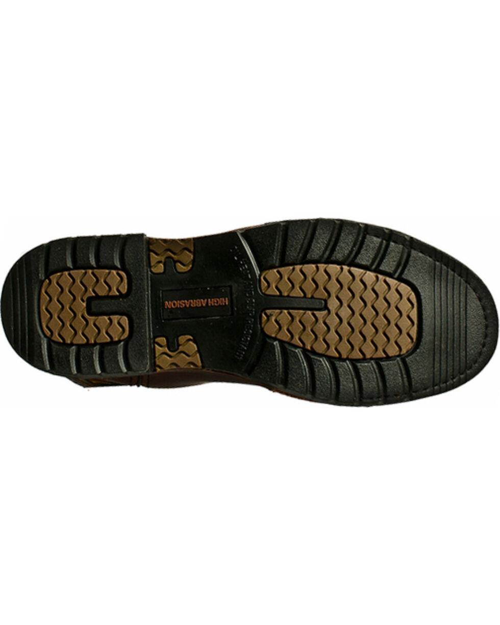 """John Deere® Men's 11"""" Steel Toe Western Work Boots, Tan, hi-res"""