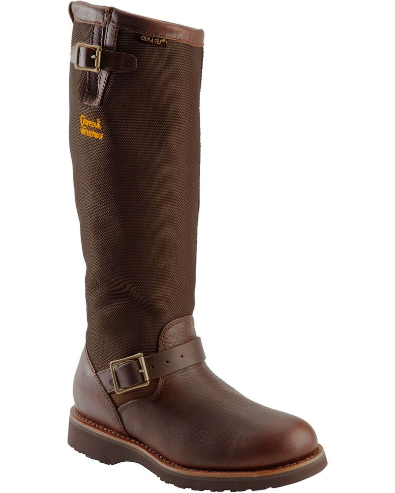 Chippewa Men S 17 Quot Viper Pitstop Waterproof Snake Boots