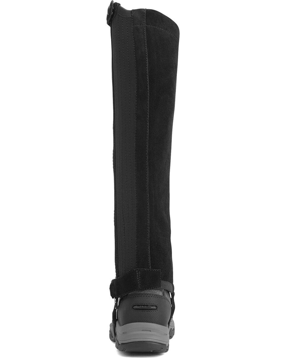 Ariat Unisex Terrain II Half Chaps, Black, hi-res