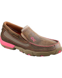 Twisted X Women's Slip-On Driving Mocs, , hi-res