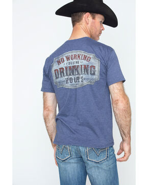 Cody James Drinking Hours Short Sleeve T-Shirt, Blue, hi-res
