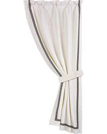 HiEnd Accent White August Matelasse Curtain, , hi-res