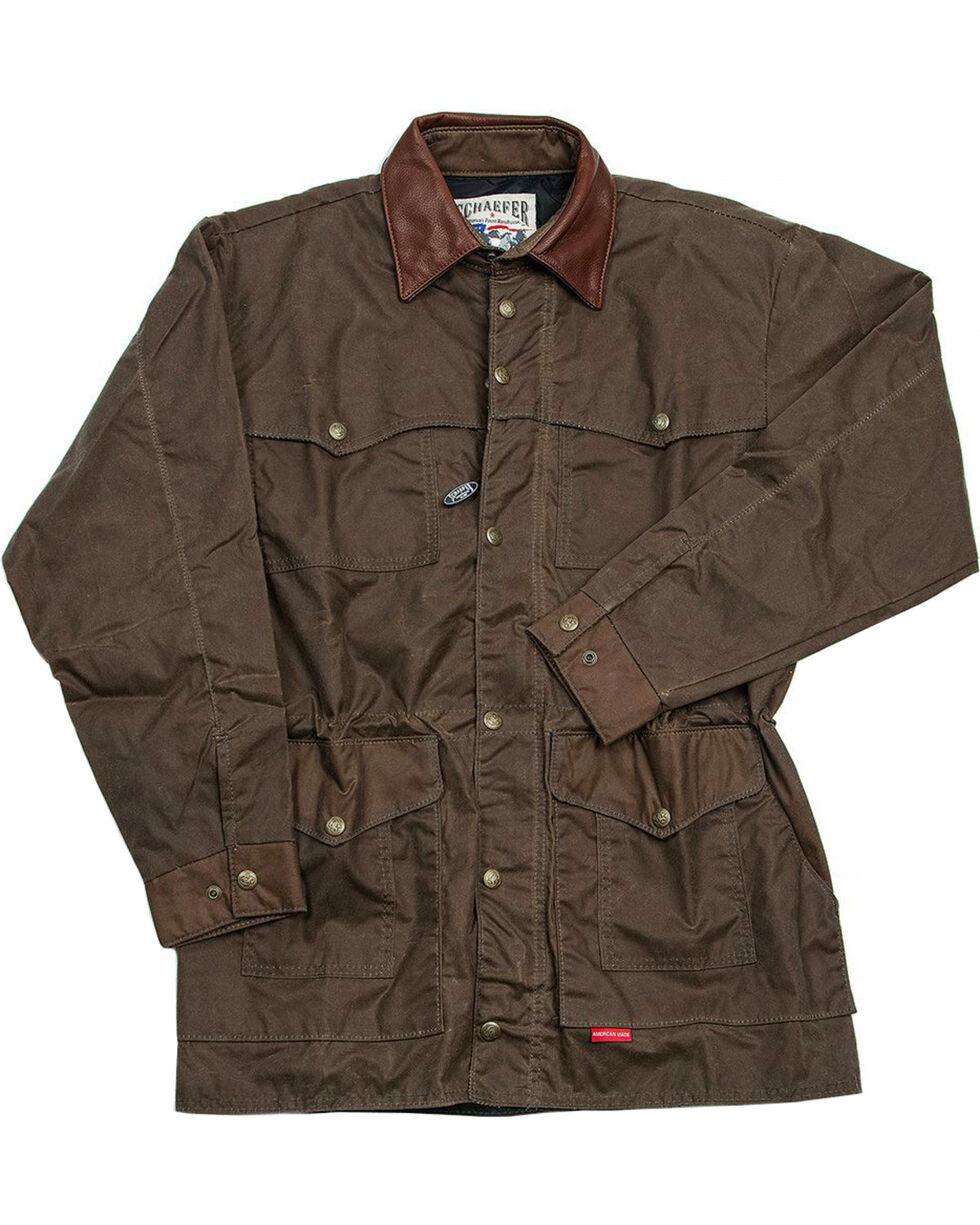 Schaefer Outfitter Men's Oak Rangewax High Plains Drifter Jacket - Big 2X, Dark Green, hi-res