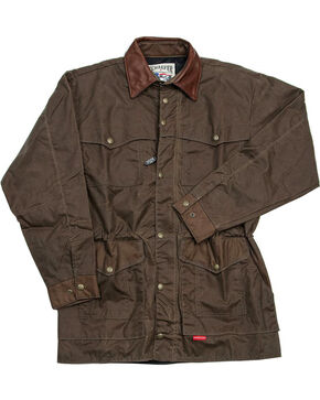 Schaefer Outfitter Men's Oak Rangewax High Plains Drifter Jacket , Dark Green, hi-res